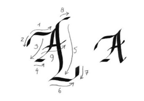 Forårsworkshop - kalligrafi kl. 12:15 - 15:00