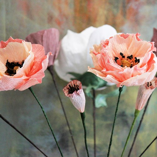 Design til dit hjem - Blomster i crepepapir kl. 09:00 - 11:45
