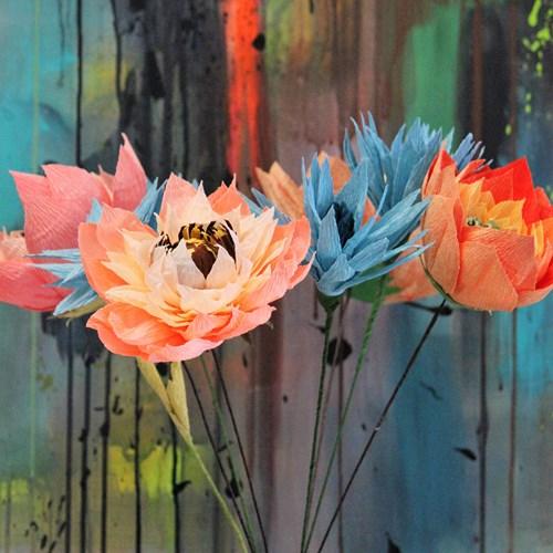 Juleworkshop - Blomster i crepepapir kl. 12:15 - 15:00