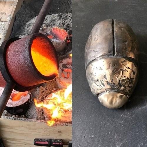 Bronzestøbning