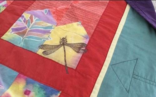 Tekstiltryk til patchwork