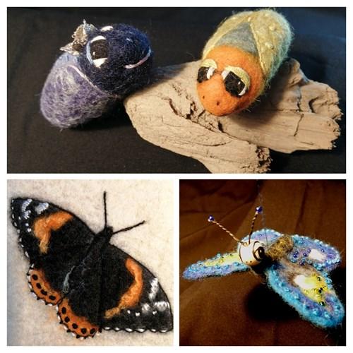 Forårsworkshop - Sommerfugle og fantasi insekter kl. 09:00 - 11:45